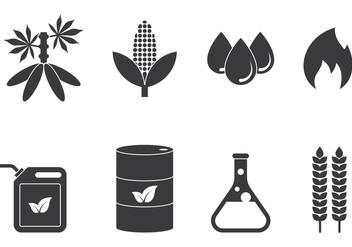 Bio Diesel Icons - Free vector #424635