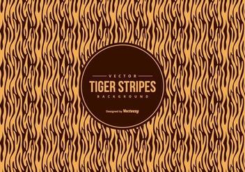 Orange/Black Tiger Pattern Background - Kostenloses vector #425495