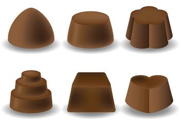 Free Chocolate Icons Vector - Kostenloses vector #425665