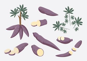 Cassava Vector - vector gratuit #427815