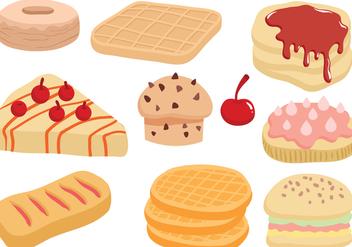 Free Sweets Vectors - Free vector #428075
