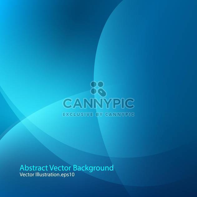 vector illustration of abstract blue background - Free vector #127945