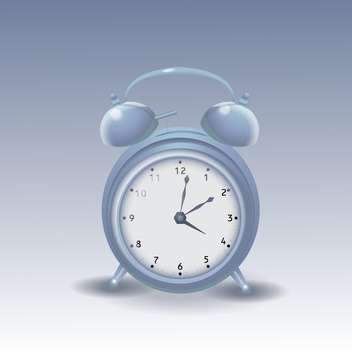 Vector illustration of alarm clock - бесплатный vector #128505