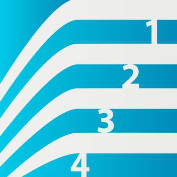 Abstract vector blue numbered lines background - vector #129475 gratis