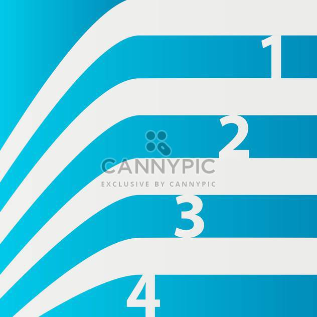 Abstract vector blue numbered lines background - Free vector #129475