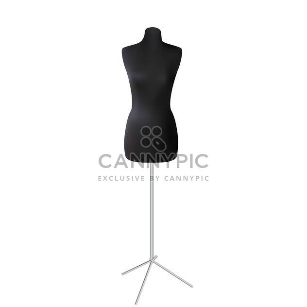 vector dressmaker mannequin illustration - Free vector #130325