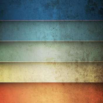 Rainbow horizontal lines vintage background - vector #130865 gratis