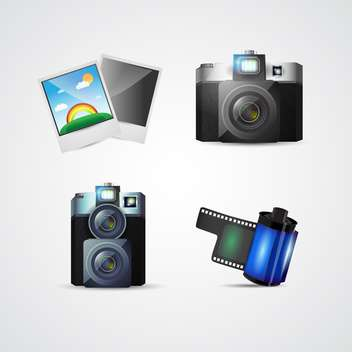 Vector photo icons for web use - бесплатный vector #131095