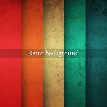 Vector vintage striped background - vector gratuit #131625