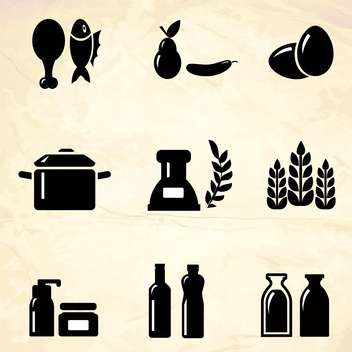 product icons vector illustration - vector #133285 gratis