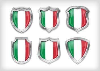 italian vector safety label background - vector gratuit #133595