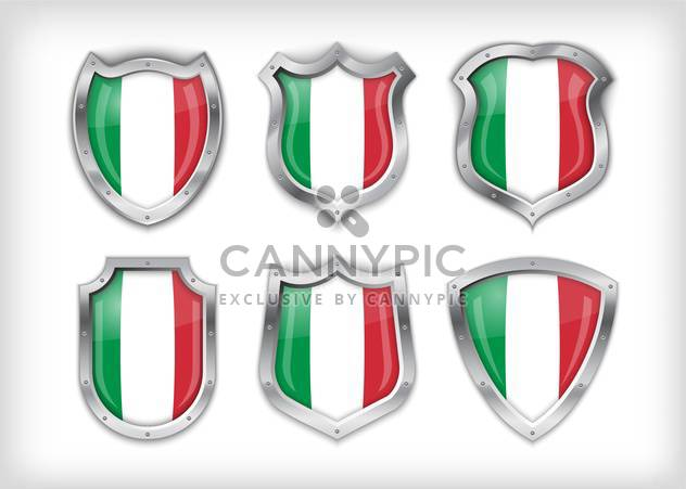 italian vector safety label background - Free vector #133595