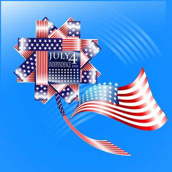 usa independence day illustration - vector #134145 gratis