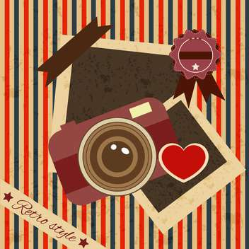 vintage collection photo background - Free vector #134235
