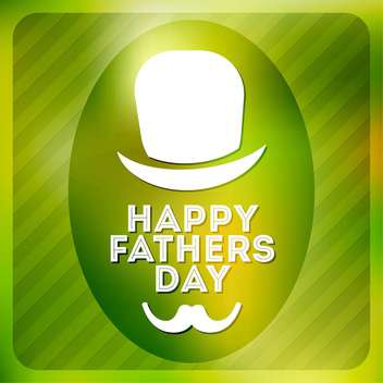 happy father's day label - vector #134495 gratis