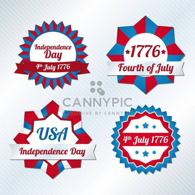 usa independence day symbols - Free vector #134505