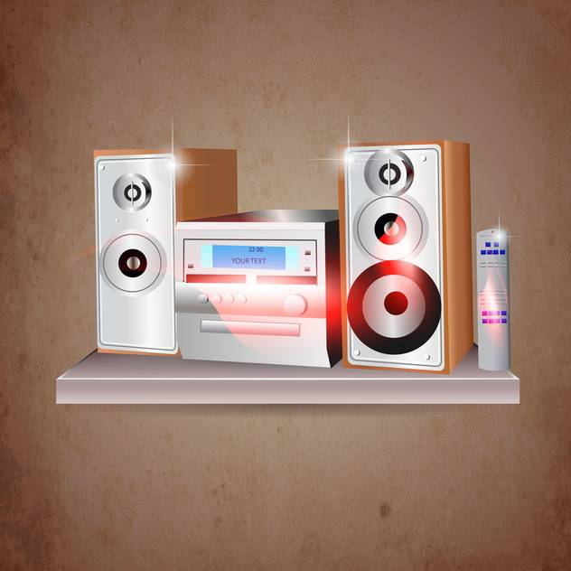 recorder sound system illustration - бесплатный vector #134615