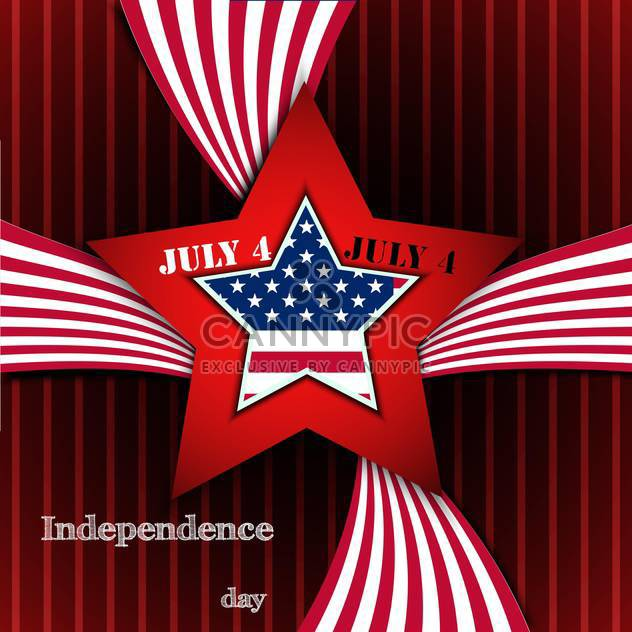 american independence day poster - Free vector #134635