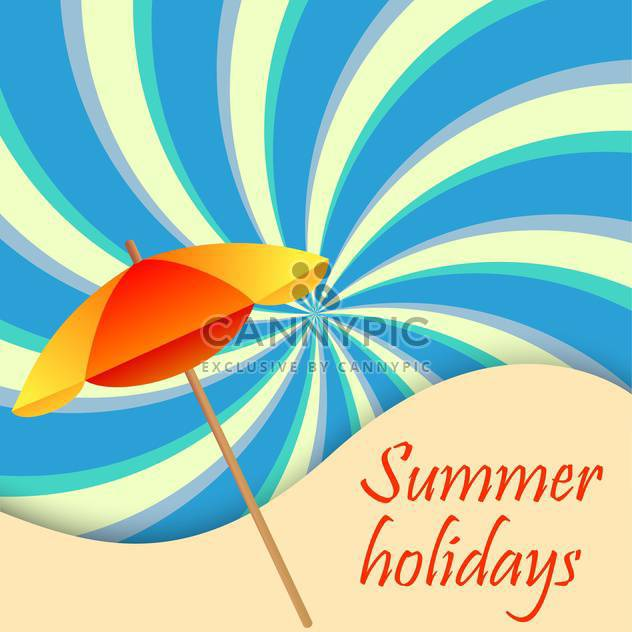 Sommer Urlaub Urlaub background - Kostenloses vector #134705