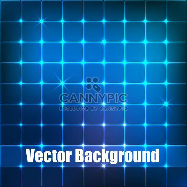 vector background with blue squares - Free vector #134845