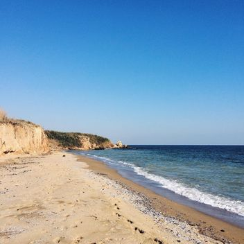 beach at sea in odessa - Free image #136215
