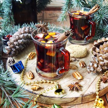Cap of hot mulled vine - бесплатный image #136635