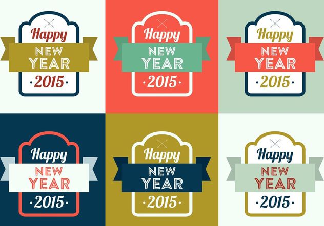 Nouvel an Vector Backgrounds - vector gratuit #138705