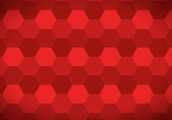 Hexagon Maroon Background Vector - vector gratuit #138735