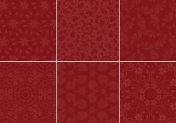 Maroon Background Vector Set - vector gratuit #138765