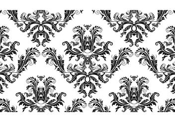 Free Damask Seamless Pattern - Free vector #139565