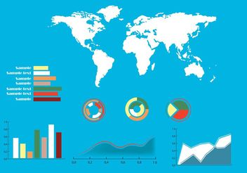 Vector infographic elements - vector #139835 gratis