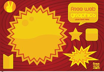 Free Web Graphics - бесплатный vector #139865