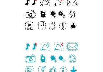 Free Vector Technology Icons - Free vector #140005