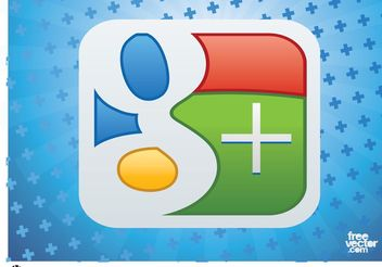 Google Plus Vector Logo - бесплатный vector #140175