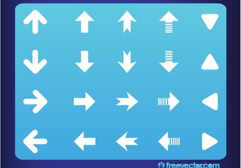 Vector Arrows - vector gratuit #140685