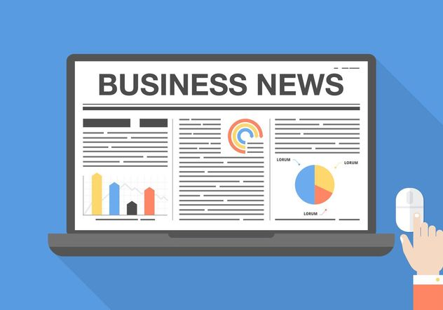 Free Business News Vector Graphic - Free vector #140935