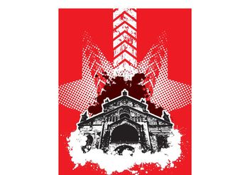 Vector Church - vector #141405 gratis