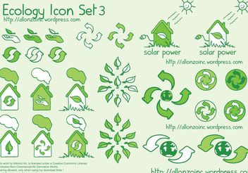 Ecology Icon Set 3 - vector gratuit #141495