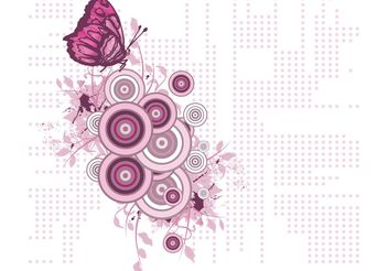Free Butterfly Vector Illustration - Kostenloses vector #141515
