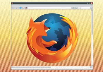 Firefox Logo Browser Graphics - Free vector #141735