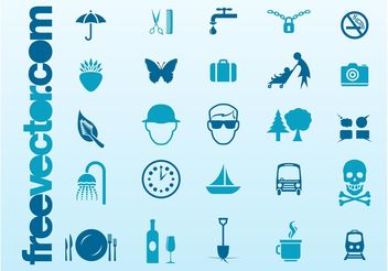 Free Icons Vector Collection - Kostenloses vector #142075