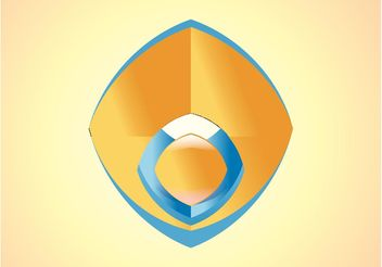 Shiny Logo Icon - vector #142635 gratis