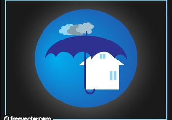 Real Estate Insurance Logo - Kostenloses vector #142655