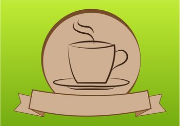 Coffee Logo - vector #142815 gratis