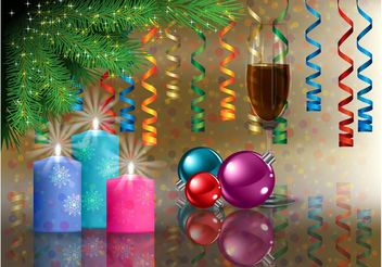 Vector Holiday Background - vector gratuit #142955