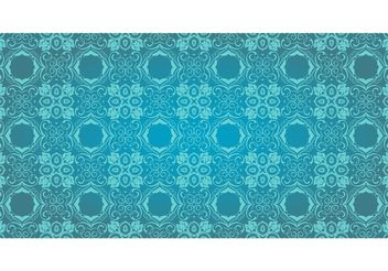 Antique Floral Vector Pattern - vector gratuit #143155