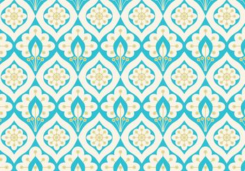 Free Vector Abstract Peacock Seamless Pattern - Kostenloses vector #143515