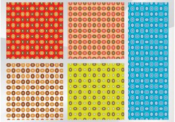 Retro Patterns - vector gratuit #143725