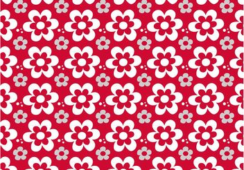 Floral Pattern Graphics - Free vector #143965