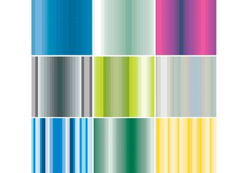 Stripes Patterns - vector gratuit #144165